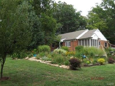 Potosi Single Family Home Active Under Contract: 801 Valley Road