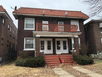 St Louis City County Single Family Home For Sale: 3123 Norwood Avenue