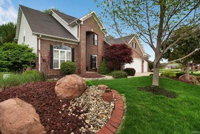 Glen Carbon Single Family Home Active Under Contract: 129 Fountain Drive