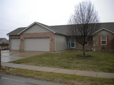 Mascoutah Single Family Home For Sale: 1187 Larkspur
