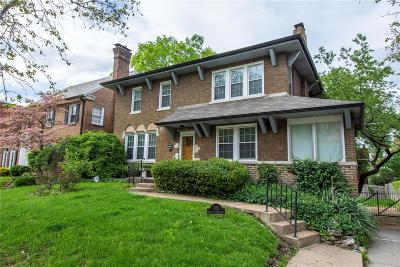 Single Family Home For Sale: 7155 Delmar Boulevard