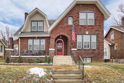 St Louis City County Single Family Home For Sale: 4028 Loughborough Avenue