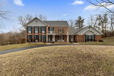 Chesterfield MO Single Family Home For Sale: $649,900