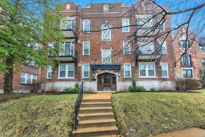 St Louis City County Condo/Townhouse For Sale: 6240 Rosebury Avenue #2E