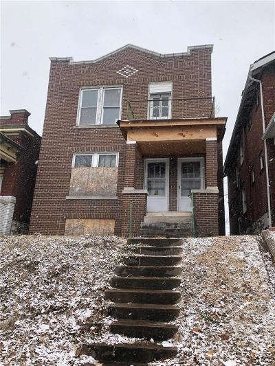 St Louis Multi Family Home For Sale: 5027 South Grand Boulevard