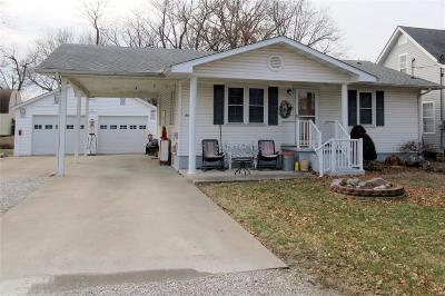 Bethalto IL Single Family Home For Sale: $114,900