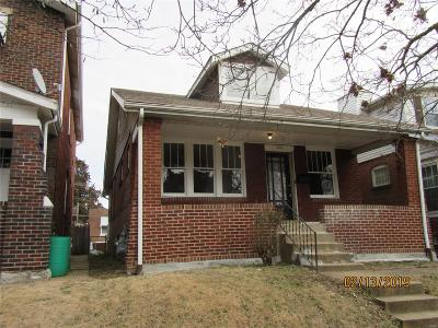 St Louis City County Single Family Home For Sale: 4332 Michigan Avenue