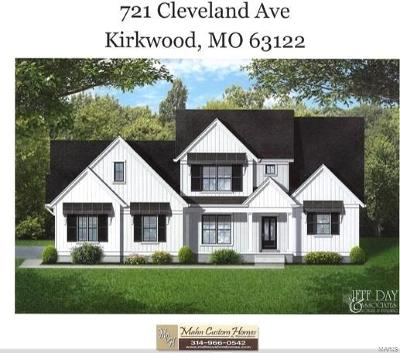 Kirkwood New Construction For Sale: 721 Cleveland Avenue