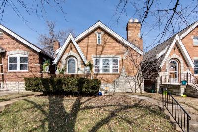 St Louis Single Family Home Active Under Contract: 5725 Murdoch Avenue