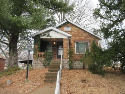 St Louis Single Family Home For Sale: 2834 Wheaton Avenue