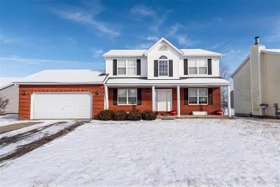 O'Fallon Single Family Home For Sale: 1508 Keck Ridge Drive