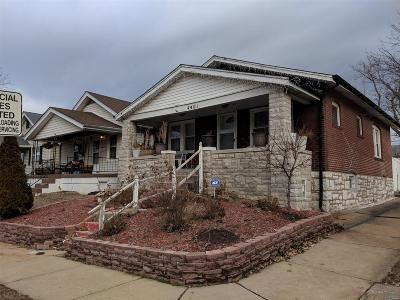 St Louis City County Single Family Home For Sale: 4401 Bingham Avenue