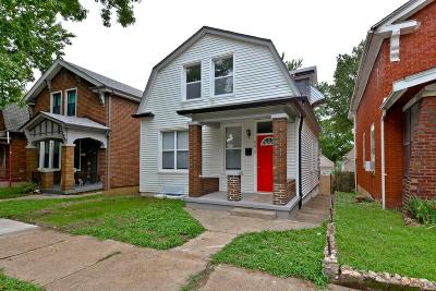 St Louis City County Single Family Home For Sale: 4218 Osceola Street