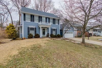 Single Family Home For Sale: 415 Woodview Manor