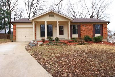 St Louis Single Family Home For Sale: 3066 Armona Drive