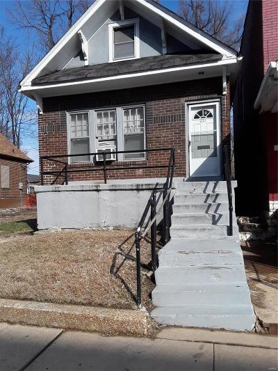 St Louis City County Single Family Home For Sale: 4341 Aldine Avenue