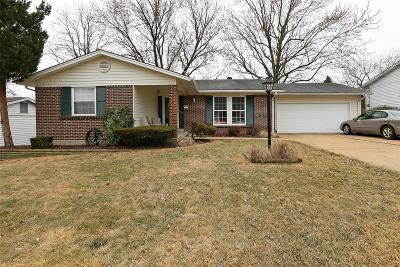 Florissant Single Family Home Active Under Contract: 1770 Layven Avenue