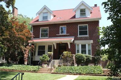 St Louis Single Family Home For Sale: 4457 McPherson Avenue