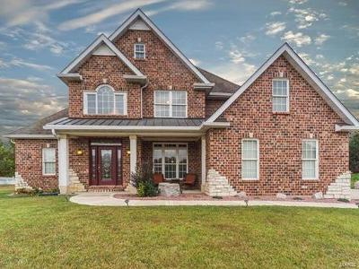 O'Fallon Single Family Home For Sale: 8404 Armsleigh