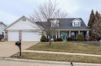 Dardenne Prairie Single Family Home Active Under Contract: 1121 Whispering Pines Drive