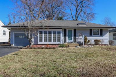 Florissant Single Family Home Active Under Contract: 215 Monterey Drive
