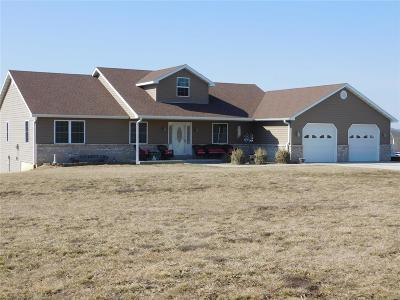 Hannibal Single Family Home For Sale: 54072 Johnny Trail