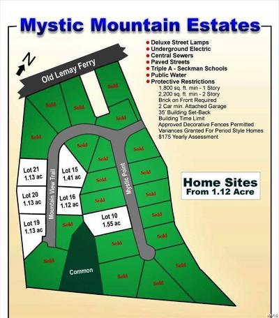 Madison County, Jefferson County, St Francois County Residential Lots & Land For Sale: 4 Mountain View Trail