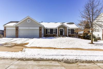 Wentzville MO Single Family Home Active Under Contract: $249,500