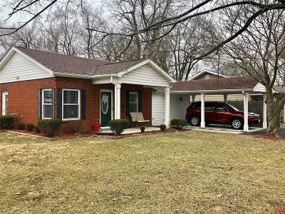 East Alton Single Family Home For Sale: 7 Dell Avenue