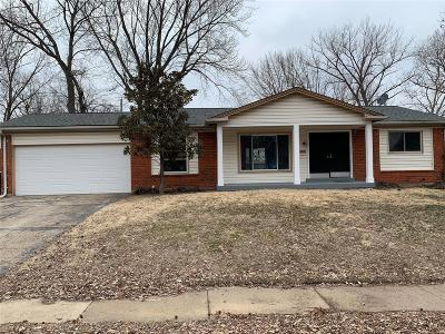 Florissant Single Family Home Active Under Contract: 2735 Chelsea Drive