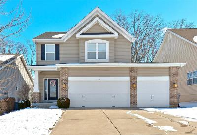 O'Fallon Single Family Home Active Under Contract: 122 Sunset Villa Court