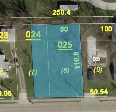 Bethalto Residential Lots & Land For Sale: 508 West Corbin St