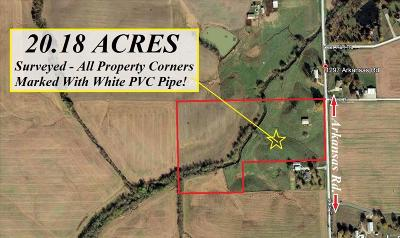 Residential Lots & Land For Sale: Arkansas Road