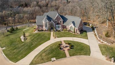 Clarkson Valley Single Family Home For Sale: 5 Kehrs Mill Glen Court