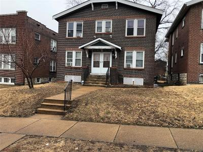 St Louis City County Multi Family Home For Sale: 3643 Keokuk