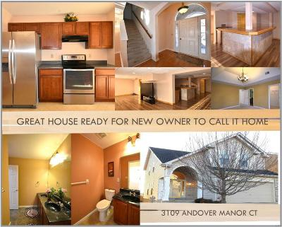 St Louis Single Family Home For Sale: 3109 Andover Manor Court