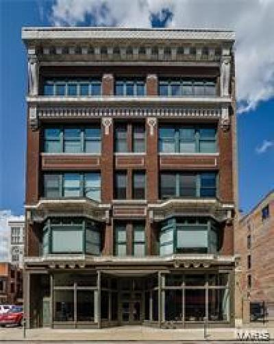 St Louis City County Condo/Townhouse For Sale: 1121 Locust Street #502