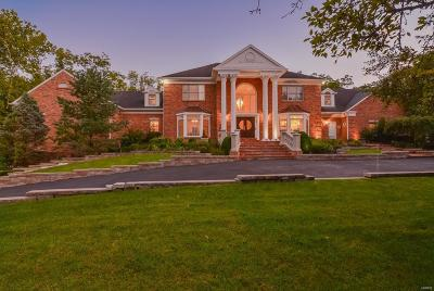 Ladue Single Family Home For Sale: 9780 Old Warson Road