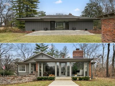St Louis County Single Family Home For Sale: 1100 South Spoede Road