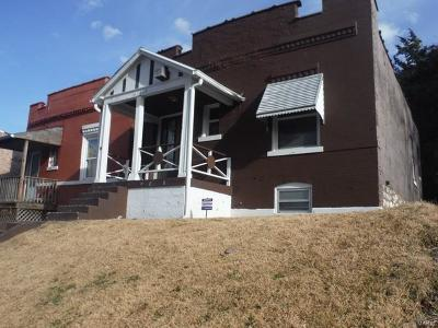 St Louis City County Single Family Home For Sale: 4116 North Taylor Avenue