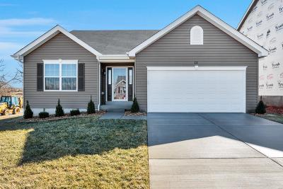 O'Fallon Single Family Home For Sale: 212 Bluestem