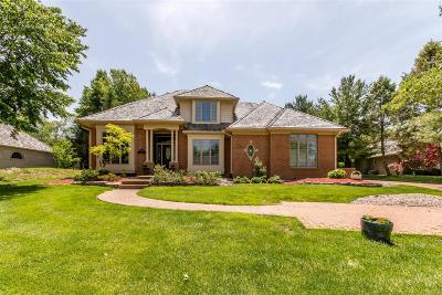 Edwardsville Single Family Home For Sale: 1202 South Oxfordshire Lane