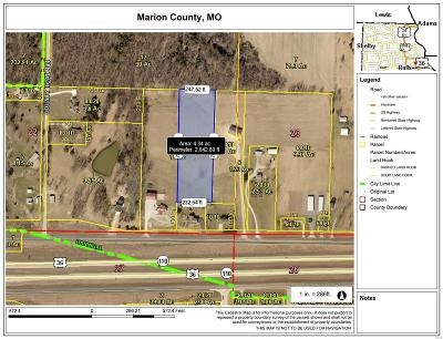 Hannibal MO Residential Lots & Land For Sale: $56,000
