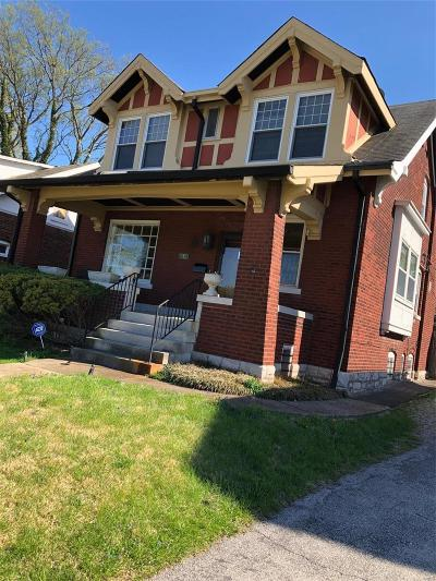St Louis City County Single Family Home Active Under Contract: 6678 Oakland Avenue