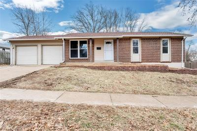 Florissant Single Family Home Active Under Contract: 1955 Flordawn Drive