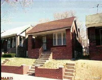 St Louis City County Single Family Home For Sale: 4969 Theodore Avenue