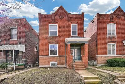 St Louis City County Single Family Home For Sale: 3432 McKean Avenue