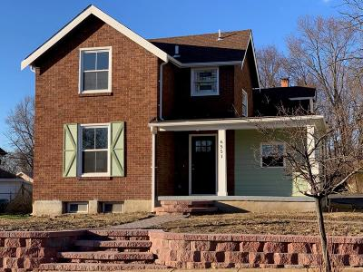 Single Family Home For Sale: 6551 Fyler Avenue