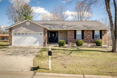 St Charles Single Family Home For Sale: 1346 Thornwood
