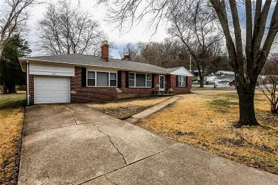 Arnold Single Family Home For Sale: 1507 Cheryl Acres